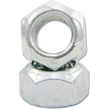 M27-3.0 Zinc and Wax All Metal Lock Nut