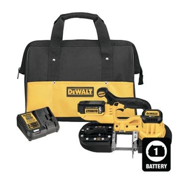 DeWalt 20V MAX Cordless Compact Portable Band Saw Kit