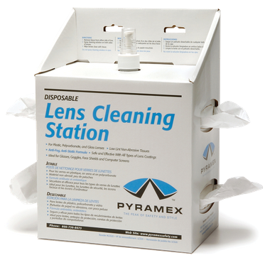 Pyramex 16 oz Lens Cleaning Station
