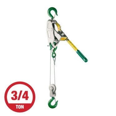 Lug-All 3/4 Ton Cable Winch Hoist