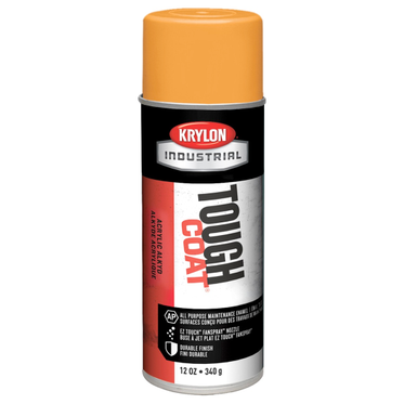 Krylon Tough Coat Spray Paint OSHA Orange 12 Fluid Ounces