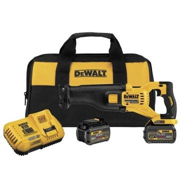 DeWalt Flexvolt 60V MAX Brushless Reciprocating Saw - 2 Battery Kit