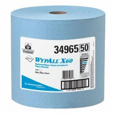 Medium Weight Blue Wipers Jumbo Roll