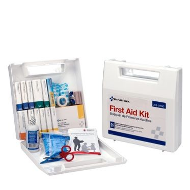 196 Piece First Aid Kit - 50 Person