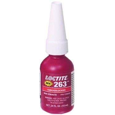 263 Threadlocker High Strength 10 ml Bottle