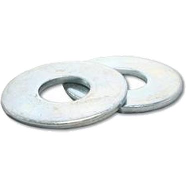 M4 Zinc Plated Flat Washer DIN 125A Grade 140HV Low Carbon Steel