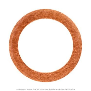 Copper Drain Plug Gasket 14mm x 20mm Outer Diameter, 15 per Box