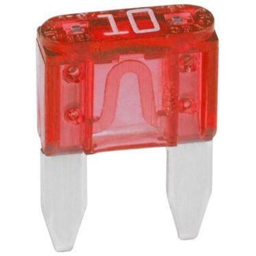 Red Mini Fuse 10 Amp
