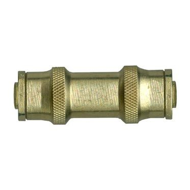Brass DOT Push-To-Connect Union 3/16 Outer Diameter Tube