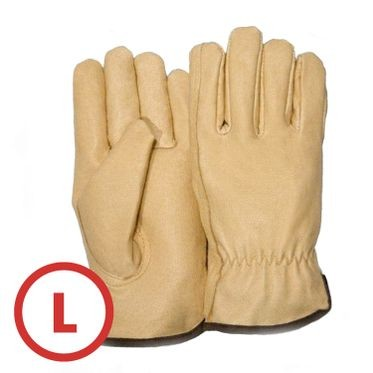 Premium Pigskin Leather Driver Glove Large