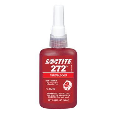 272 Threadlocker Hi-Temp/Strength 50 ml Bottle