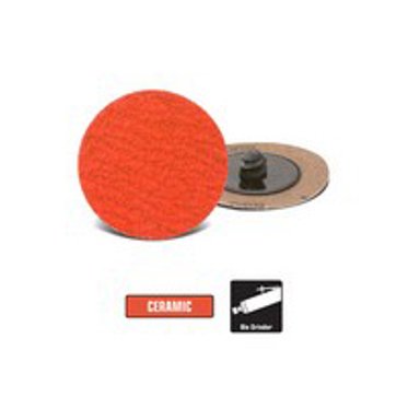 3 Ceramic Surface Conditioning Disc Roll-On Disc 24 Grit