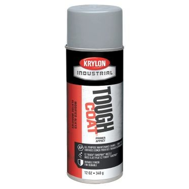 Krylon Tough Coat Spray Paint Light Gray Sandable Primer 12 Fluid Ounces