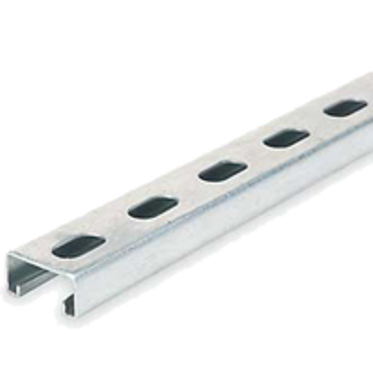 Pre-Galvanized Shallow Strut Slotted 1-5/8