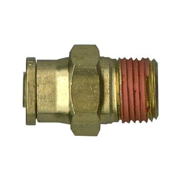 Brass DOT Male Connector 3/8