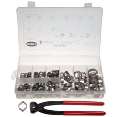 Stainless Steel Oetiker 2-Ear Clamp Assortment