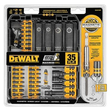 DeWalt FlexTorq Screwdriving Set - 35 Pieces