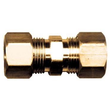 Brass Coupling Compression Union 1/2