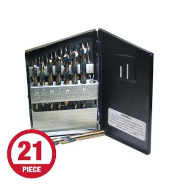 Heavy Duty Metal Drill Bit Set 1/16