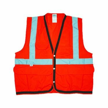 Class 2 Orange Surveyor Vest
