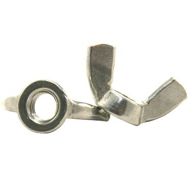 M6-1.0 Stainless Steel Wing Nut A2