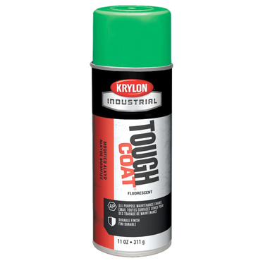 Krylon Tough Coat Spray Paint Fluorescent Green 12 Fluid Ounces
