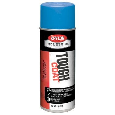 Krylon Tough Coat Spray Paint OSHA Blue 12 Fluid Ounces