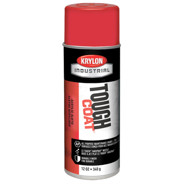 Krylon Tough Coat Spray Paint OSHA Red 12 Fluid Ounces