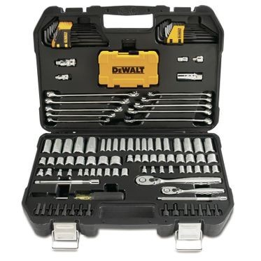 DeWalt Mechanics Tool Set - 142 Pieces