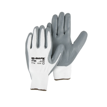 Foamed Nitrile Palm Coated Glove Large - 12 Pairs Per Bag