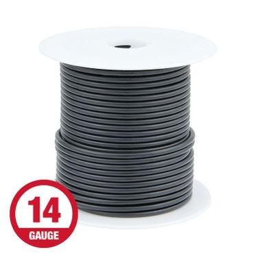 Primary Wire 14 Gauge Black 100' Spool