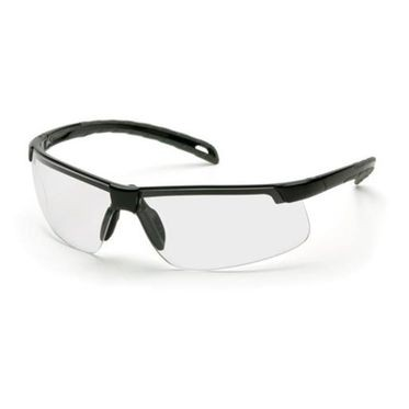 Ever-Lite Anti-Fog Clear Lens/Black Frame Safety Glasses