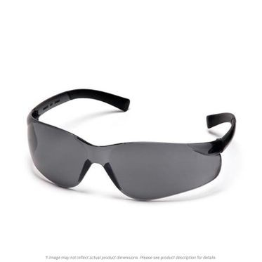Ztek Gray Lens & Frame Safety Glasses
