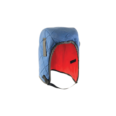 Blue Nylon Shell with Red Insulation