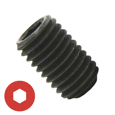 M10-1.5 x 60mm Cup Point Socket Set Screw