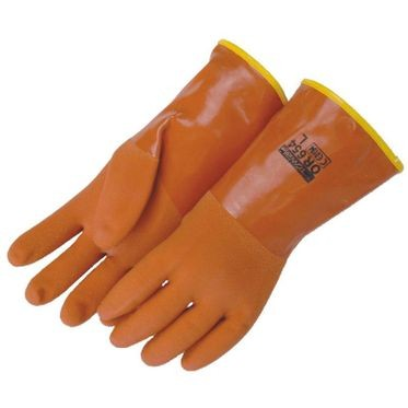 Insulated Glove PVC Coated Large