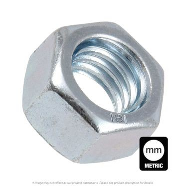 M7-1.0 Zinc Plated Finish Hex Nut DIN 934 Class 8