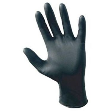 Black Disposable Powder Free Nitrile Glove 2XL - 100 Gloves Per Box