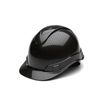Graphite Black 4-Point Ridgeline Cap Hard Hat