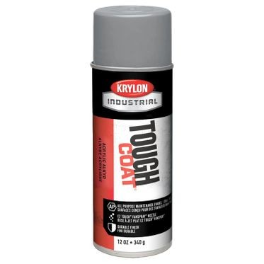 Krylon Tough Coat Spray Paint Machinery Gray 12 Fluid Ounces
