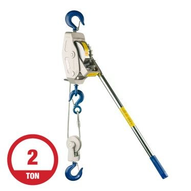 Lug-All 2 Ton Cable Winch Hoist