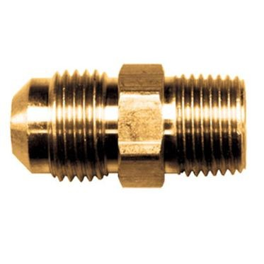 Brass Flare Connector 1/4