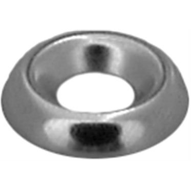 #8 Black Zinc Plated Countersunk Washer