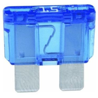 Blue BladE-Type Fuse 15 Amp, 5 per Box