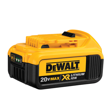DeWalt 20V 4.0 AH XR Li-Ion Battery (1 Per Pack)