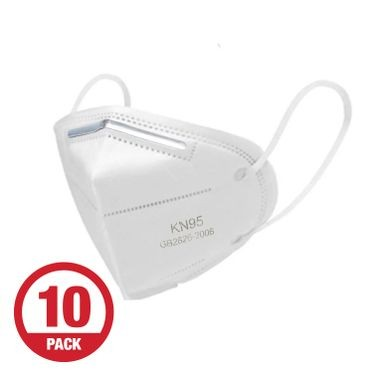 KN95 Protective Dust Mask - 10 Per Pack