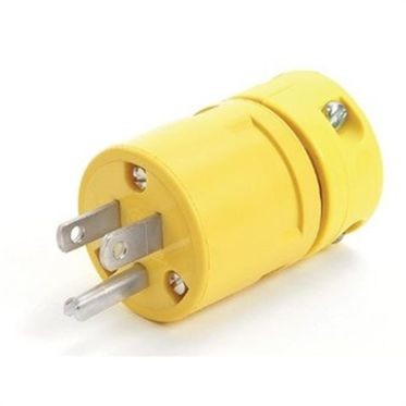 Male Replacement Plug 15 Amp/125 Volt