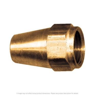Brass Long SAE 45° Flare Nut Milled 5/8