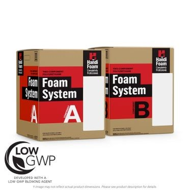 Handifoam P12059 Low GWP Spray Foam Kit 504 Board ft.