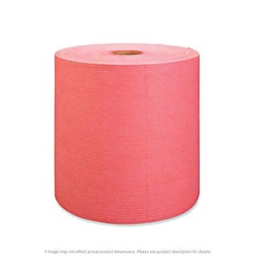 Heavy Weight Red Wipers Jumbo Roll